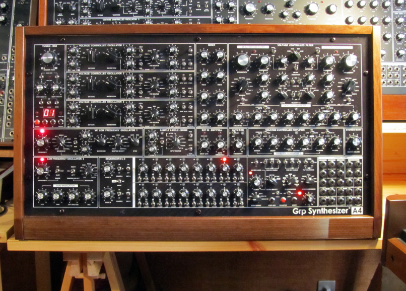 Grp A4 Analog Synthesizer