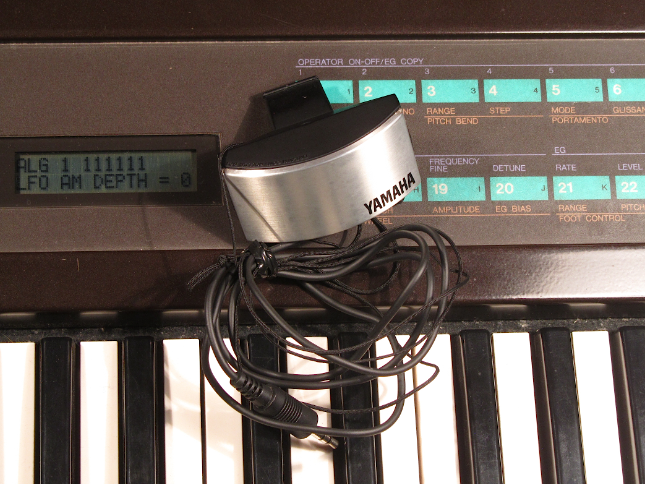 yamaha dx7 breath controller