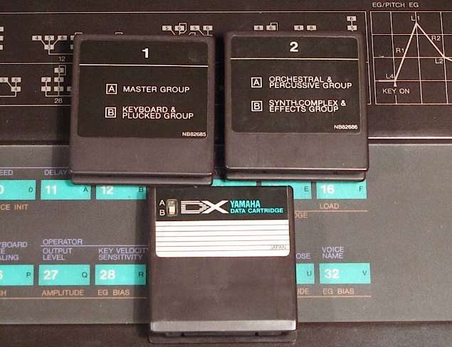 yamaha dx7 cartridge
