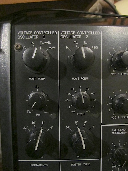 ms20 osc panel