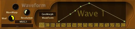 zebralette waveform