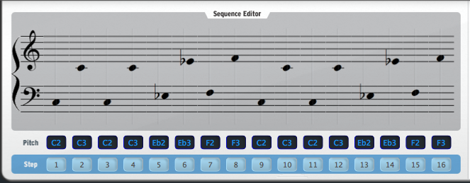 11 BeatStep Seq Notation