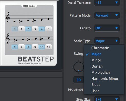 13 BeatStep Scale