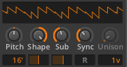 Polysynth 02 Sub & Sync
