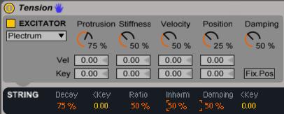 08 Tension - Plectrum Default