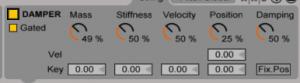 11 Tension - Damper standard