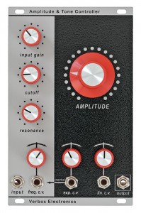 Verbos Amplitude and Tone Control