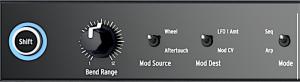 MB2 Left Panel Control