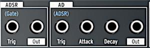 MB2:2S ADSR-AD:AR Patchbay