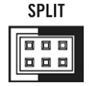 16 VM split panel