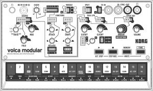 24 Volca Modular BLANK PANEL 2