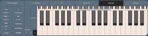 MODALapp Page Keyboard